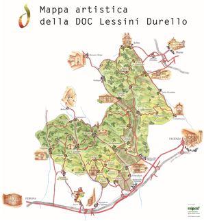 Mappa artistica Durello